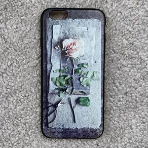 Accessories - [NEW] iPhone 6/6s Rose Soft Silicone Phone Case